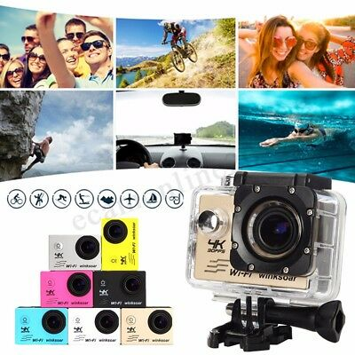 SJ9000 Sports Action Camera Recorder DV 4K HD 1080P WiFi 2.0'' Waterproof 16MP