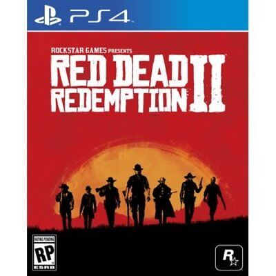 NEW Red Dead Redemption 2 - PlayStation 4