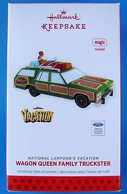 New Hallmark Griswold Wagon Queen Family Truckster Christmas Vacation Ornament