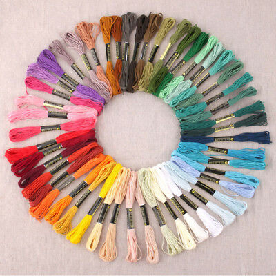 Cotton Sewing Skeins Embroidery Thread DMC floss Cross Stitch Craft 50pcs/lot
