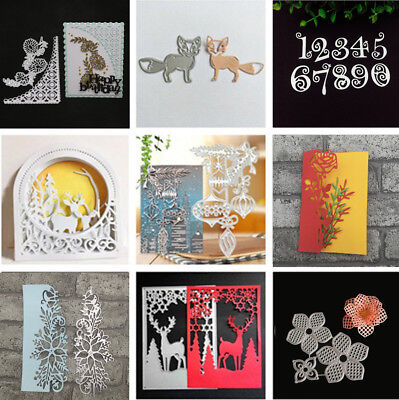 DIY Metal Cutting Dies Stencil Scrapbooking Die Card Paper Embossing Craft Album
