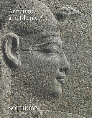 Catalogue Sotheby's Antiquities Islamic Art Antiquite Grec Romaine Egyptienne