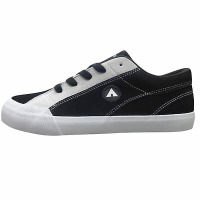 Airwalk Mens Skate Shoes Trainers Lace Up Padded Ankle Collar Tonal Stitching
