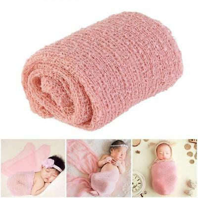 Tinksky Newborn Photography Cute Baby Pictures Prop Props Wrap (Pink)