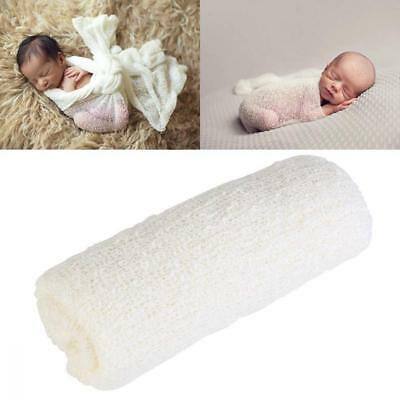 OULII Newborn Stretch Wrap Baby Photography Photo Prop Long Ripple...