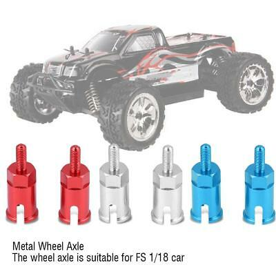 2pcs Aluminum Alloy Wheel Axle for RC FS 1/18 Electric Monster RC Car Accessory