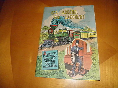 All Aboard, Mr. Lincoln Abraham Lincoln Railroad Giveaway Comic 16 Page HG