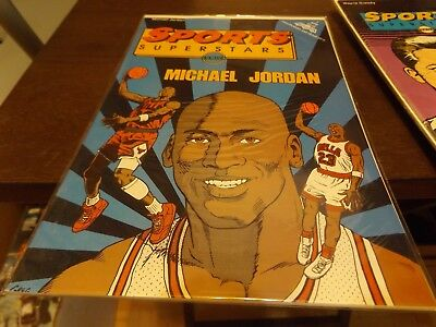 Sports Superstars Legends Celebrity Personality Sports Comic Lot Of 5-