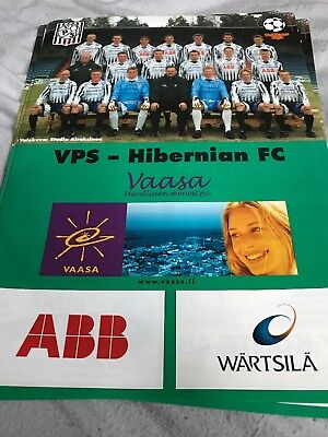 VPS Finland V Hibernian 25th July 2002 Friendly