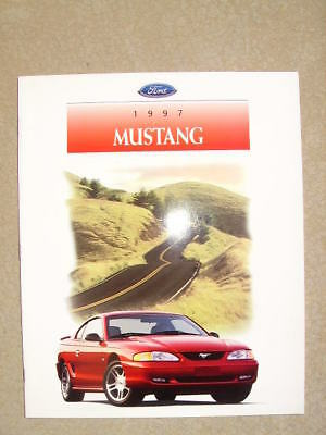 1997 Ford Mustang  Dealer Sales Brochure