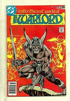 1978 DC-Enter the Lost World of Warlord #11-Flashback-Mike Grell Script-Fine