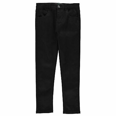 Firetrap Kids Boys Skinny Jeans Juniors Pants Trousers Bottoms Zip