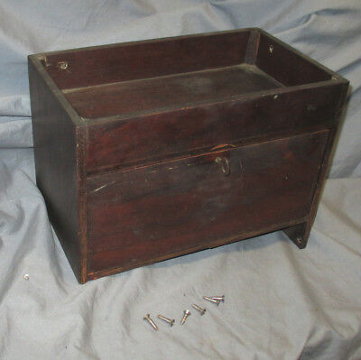 Antique Singer Open Side Treadle Sewing Machine Cabinet Drawer + Tray 23 24
