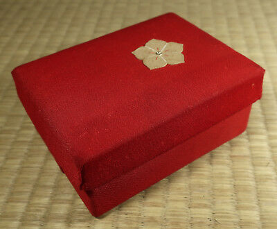 Cloth-Covered Paper Box / Japanese / Antique