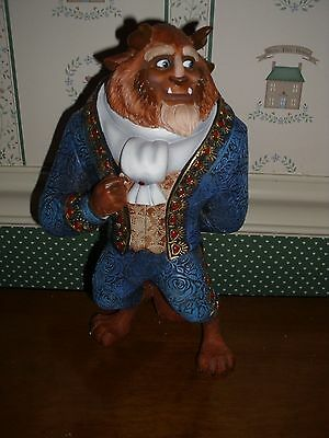 "Disney Showcase-Coutre De Force 8"" Figurine-Beast-Mib"