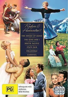 The Rodgers and Hammerstein Collection : NEW 6 Movies DVD
