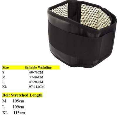 360°heat particle Magnetic Heat Waist Belt Pain Relief Back Lumbar Therapy Brace