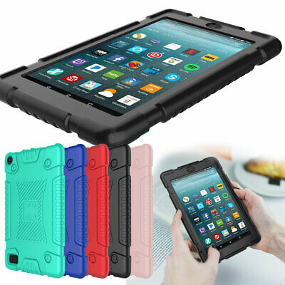 For Amazon Kindle Fire HD 8 8th Gen 2018 Tablet Case Shockproof Silicone Case
