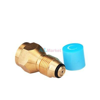 Propane Refill Adapter for Lp Gas Cylinder Tank Coupler Heater Camping BBQ Hunt