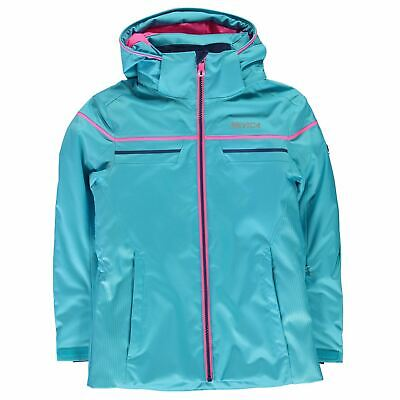 76e8c114f8 Nevica Kids Girls Vail Ski Jacket Junior Coat Top Long Sleeve Chin Guard  Hooded
