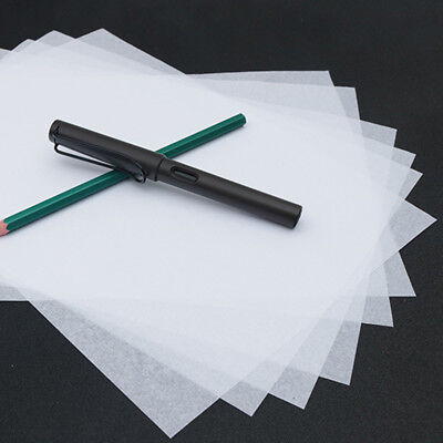 100pcs 16K Translucent Tracing Paper Copying Calligraphy Writing Drawing Paper