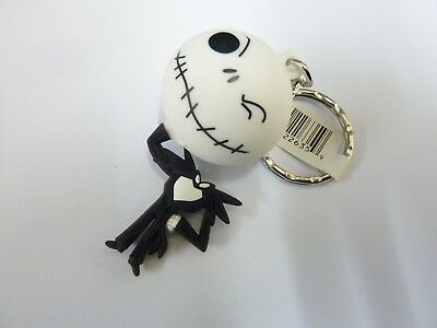 OFFICIAL NIGHTMARE BEFORE CHRISTMAS FIGURAL KEYRING : Jack Skellington b - NEW -