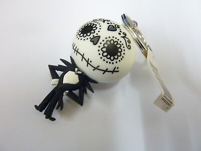 OFFICIAL NIGHTMARE BEFORE CHRISTMAS FIGURAL KEYRING : Jack Skellington RARE NEW