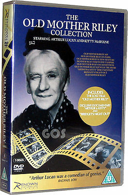 Old Mother Riley Boxset Collection of 8 Classic Films in B&W on DVD New Sealed