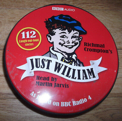 Richmal Crompton JUST WILLIAM 28 Audio CDs 112 Stories 25 Hrs 45 Mins BBC Radio