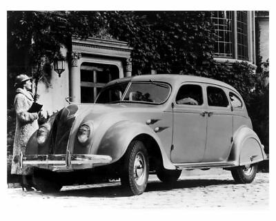 1936 DeSoto Airflow Sedan Factory Photo u7036-34LOU1