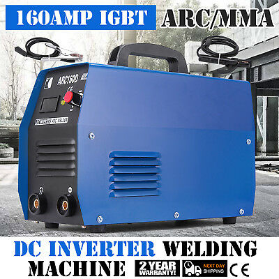 160Amp Stick ARC DC Inverter Welder 110V & 230V IGBT Dual Voltage Robust NEWEST