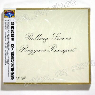 The Rolling Stones Beggars Banquet 50th Anniversary Taiwan CD OBI 2018 NEW
