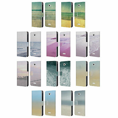 Official Artbyjwp Beach Lovin Leather Book Wallet Case Cover For Sony Phones 2