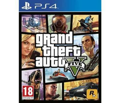 Gta 5 Ps4 Nuovo Grand Theft Auto Videogioco Eu Play Station 4