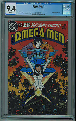 Omega Men #3 Cgc 9.4 1St Lobo High Grade White Pgs 1983 017