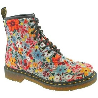 b3f063e8521 Ladiies Dr Martens Wanderlust Pascal Wl 1460 Taupe Toile Floral Bottes  24325260