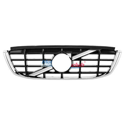 Chrome Front Bumper Grille Upper Grill For Volvo XC60 2009 2010 2011 2012 2013
