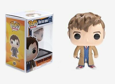 Funko Pop TV: Doctor Who - Tenth Doctor Vinyl Figure Item #4627