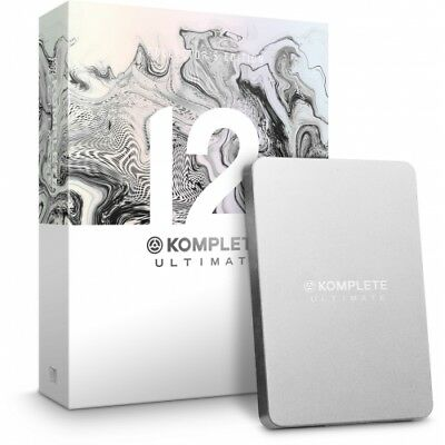 NATIVE INSTRUMENTS - KOMPLETE 12 ULTIMATE Collector's Edition UPGRADE (K8-K12)