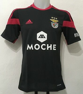 S L Benfica 2013/14 S/s Away Shirt By Adidas Size Men's Large Brand New