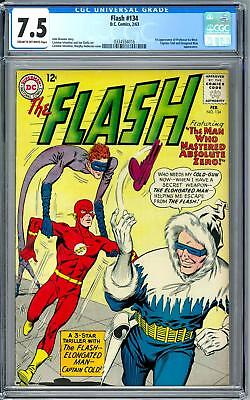 Flash #134 CGC 7.4 (C-OW) 1st Appearance of Ira West