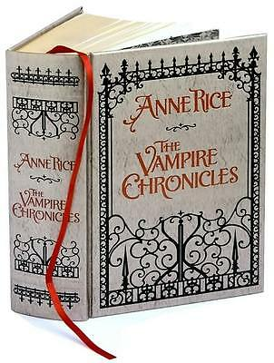 Exquisite VAMPIRE CHRONICLES GIFT ED Anne Rice ~ LEATHER BOUND Lestat INTERVIEW
