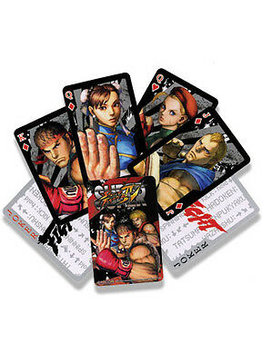 Street Fighter IV Official Genuine Playing Cards *NEW*
