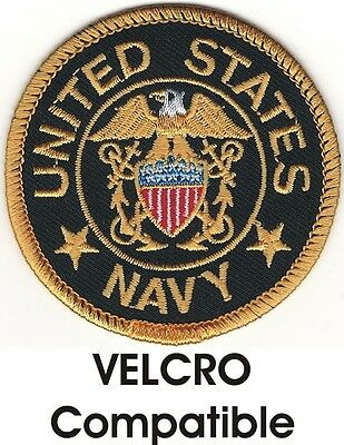 Seal of the United States Navy Patch VELCRO® BRAND Hook Fastener Compatible