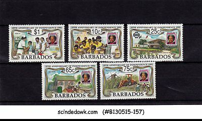 BARBADOS - 1991 25th ANNIVERSARY OF INDEPENDENCE - 5V - MINT NH