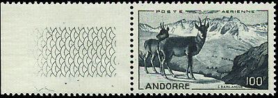 Andorra (French Administration) Scott #C12 Mint Never Hinged Catalogs $87.50