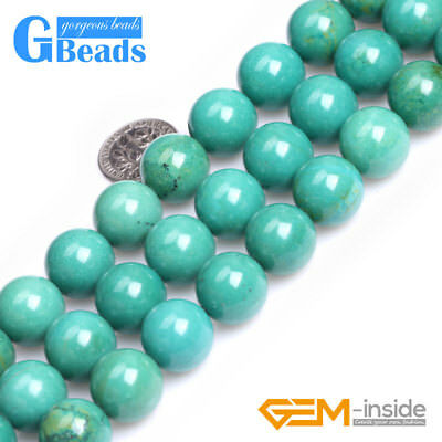 """14mm Big Beads Natural Gemstone Round Beads 15"""" Jewelry Design in Lots Free Ship"""