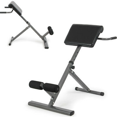 Adjustable Roman Chair AB Back Bench Hyperextension Abdominal Exercise Workout