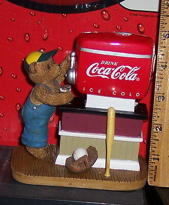 Coca - Cola Ceramic Hand Painted Cant Beat The Real Thing Memories To Cherish
