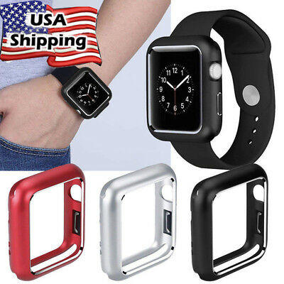 Magnetic Metal Frame Protective Case Accessories For Apple Watch Series4 40 44MM
